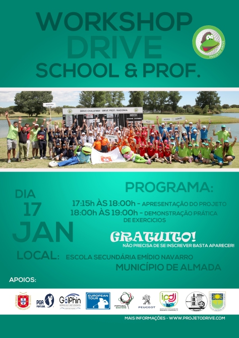 CARTAZ DRIVE SCHOOL ALMADA